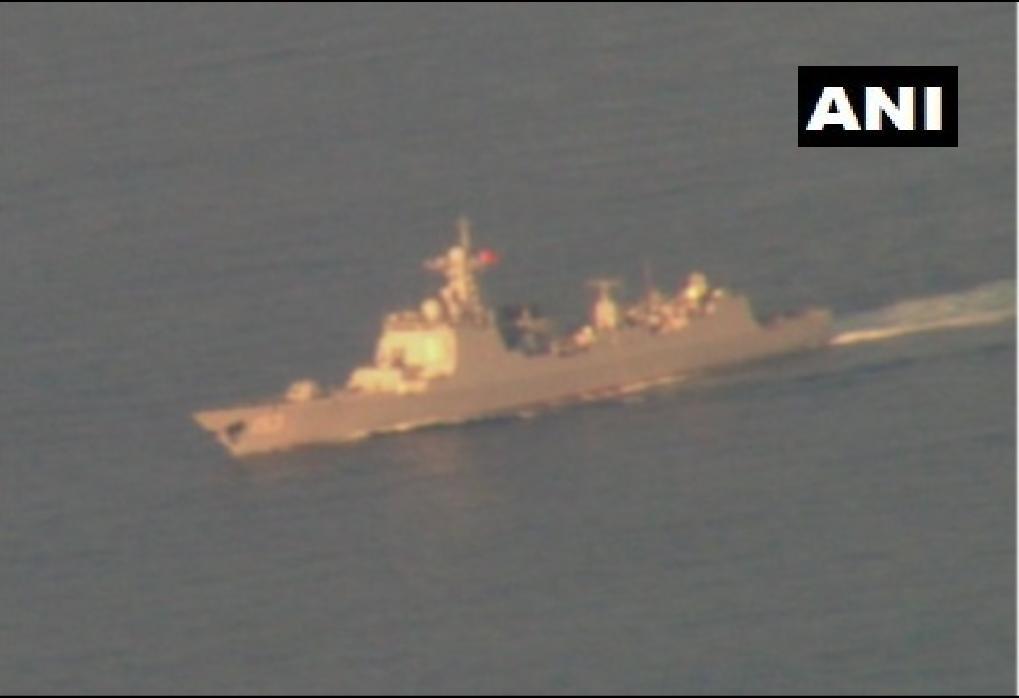 """印媒称印P8I锁定中国军舰 """"得意忘形""""写错舰名"""