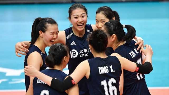 中国女排3-0俄罗斯 豪取三连胜