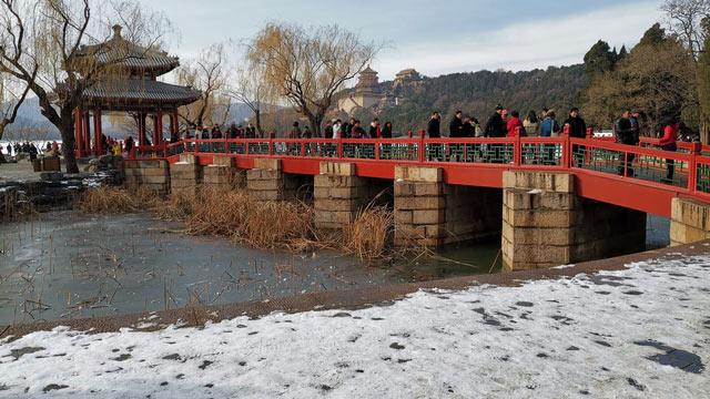 """北京的第一场雪太美了!请收下这片""""盛世美颜"""""""