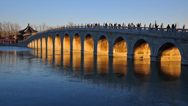 北京颐和园:跨水行空的智慧