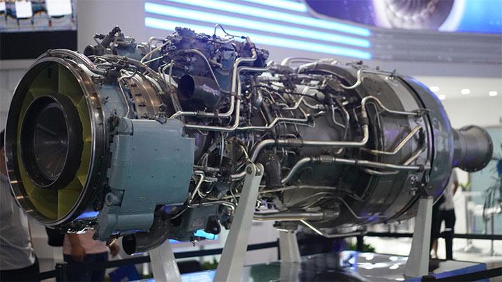 世界最大功率涡轴重直发动机亮相北京航展