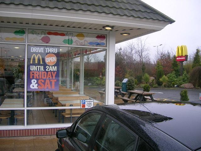 麦当劳为其汽车餐厅的点餐过程配备人工智能