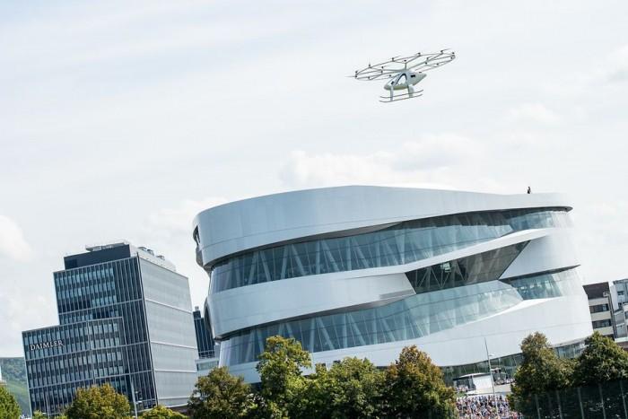Volocopter欧洲完成首次示范飞行