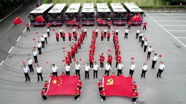 湖南张家界:歌声快闪祝福祖国