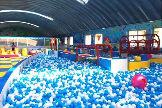 思奇乐国儿童健体公馆 专治各种精力旺盛